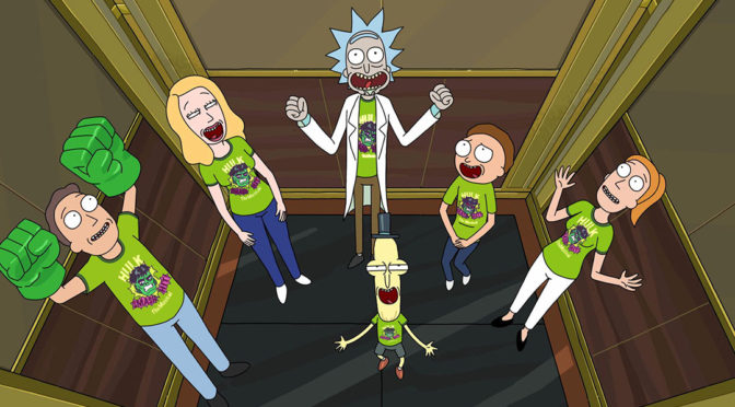 Watch: New Rick and Morty Promo Will Trip You The F Out